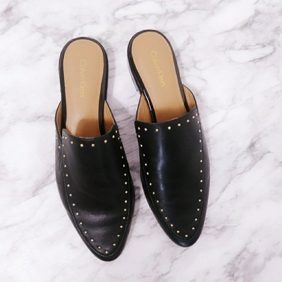 612f8fa1547 Calvin Klein Shoes - Calvin Klein loafer mule with studs